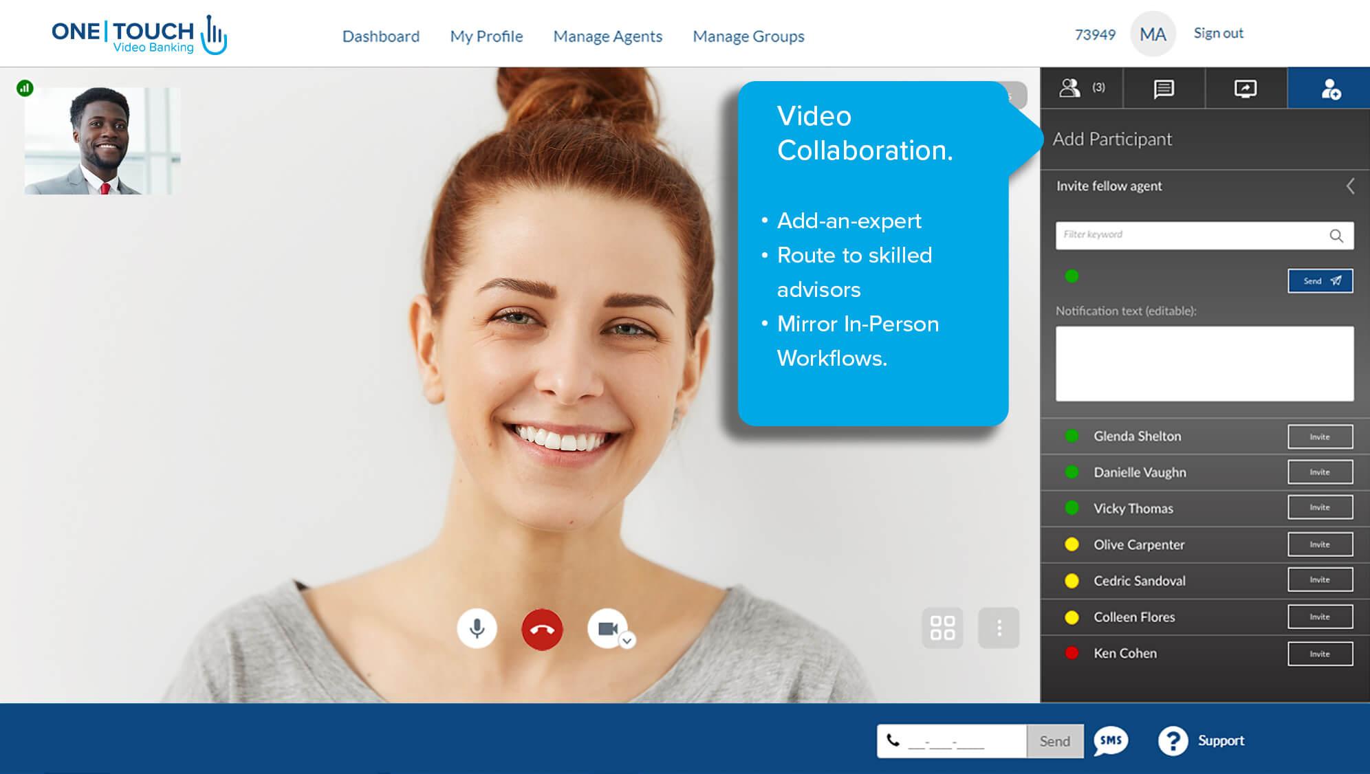 Virtual Branch Collaboration